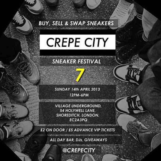 Event | Crepe City Sneaker Festival