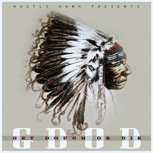 Hustle Gang – 'G.D.O.D.'   Mixtape Artwork