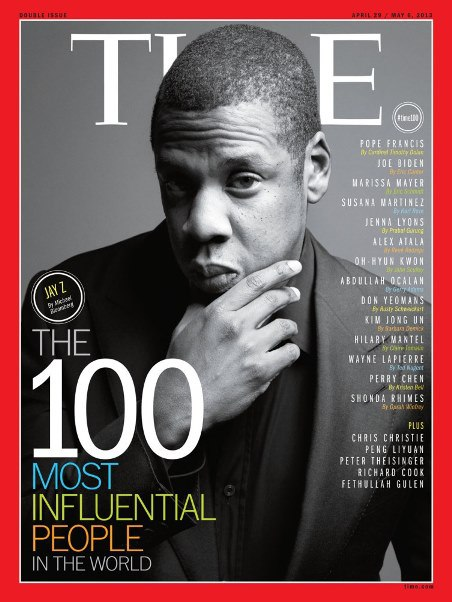 Jay-Z Covers TIME Magazine