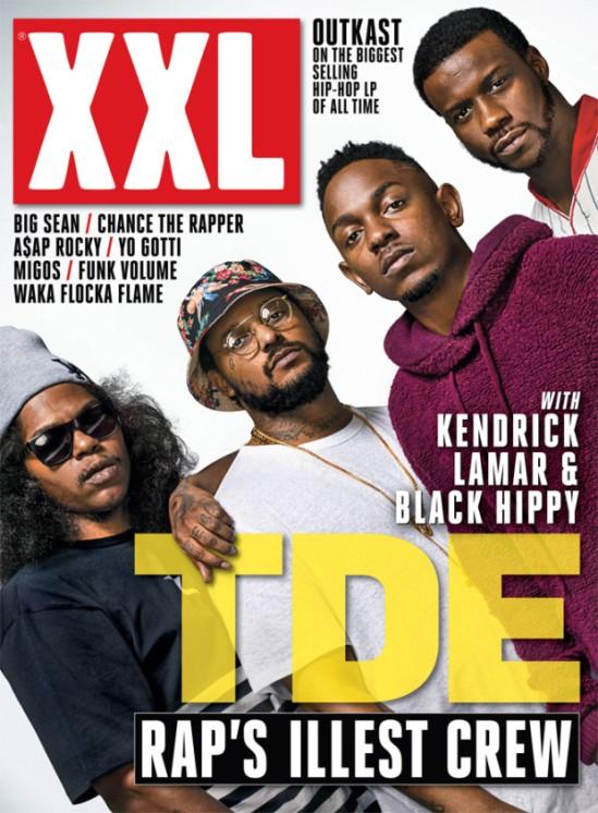 Kendrick Lamar, ScHoolboy Q, Jay Rock & Ab-Soul Cover XXL (Oct / Nov 2013)